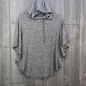 aerie • Just add leggings hooded poncho
